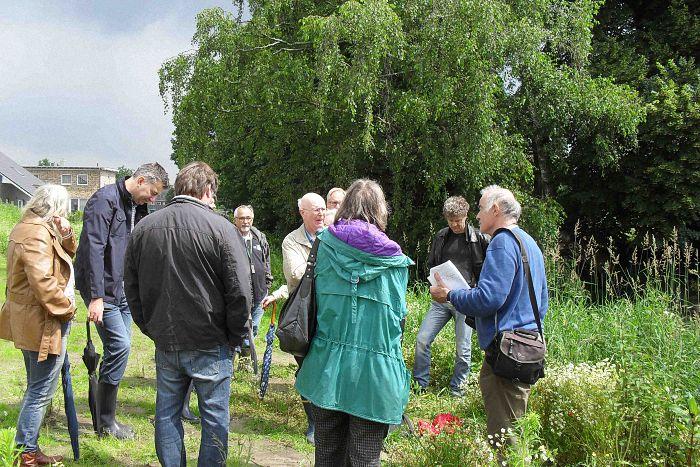 Wassernetz NRW besucht Mühlenbach in Schermbeck