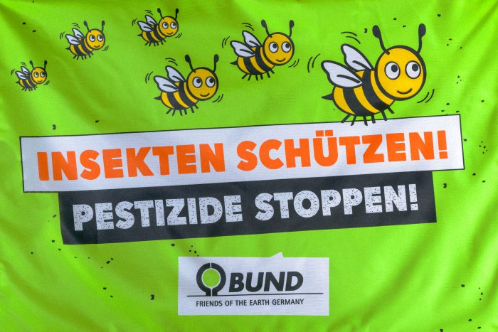 Insekten schützen - Pestizide stoppen