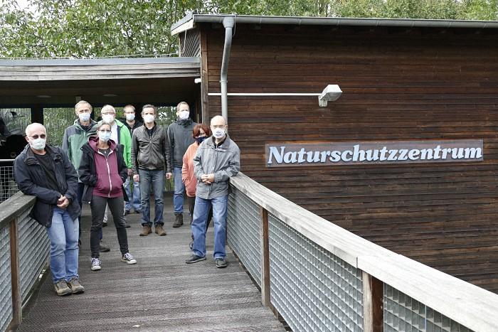 Teilnehmer des Workshops von BUND Kreisgruppe Wesel und BUND Ortgruppe Moers vom 11.10.2020