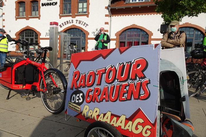 Radtour des Grauens: Start am 09.10.2020 um 16:00 am Bahnhof Moers